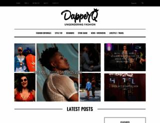 dapperq.com screenshot