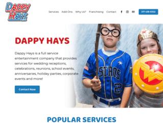 dappyhays.com screenshot