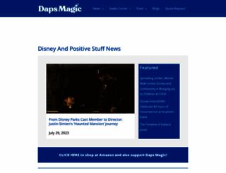 dapsmagic.com screenshot