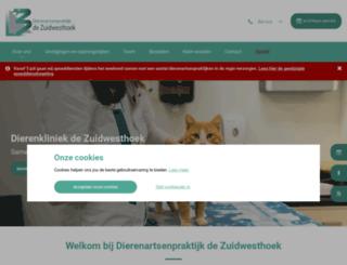 dapzuidwesthoek.nl screenshot
