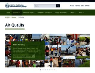 daq.state.nc.us screenshot