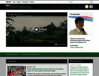 dar.gov.ph screenshot