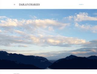 darasdiaries.blogspot.ch screenshot
