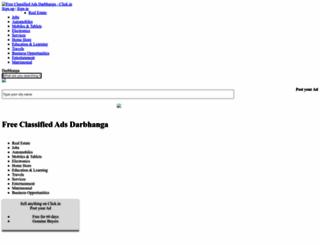 darbhanga.click.in screenshot