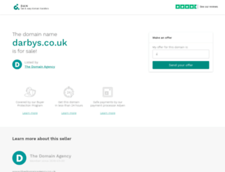 darbys.co.uk screenshot