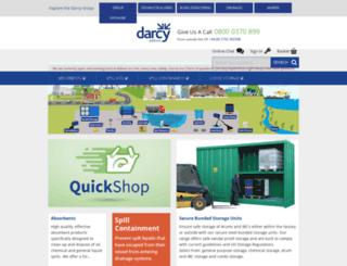 darcy.co.uk screenshot