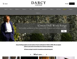 darcyclothing.com screenshot