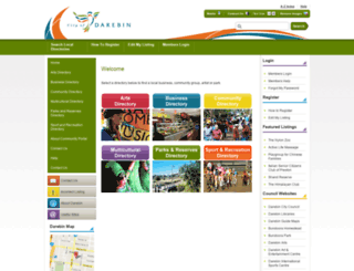 darebin.org screenshot