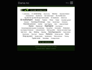 daria.no screenshot