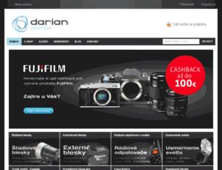 darian.sk screenshot