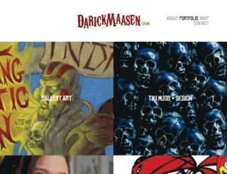 darickmaasen.com screenshot