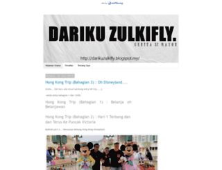 darikuzulkifly.blogspot.com screenshot
