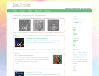 dariodomi.de screenshot