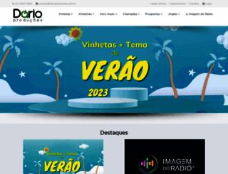 darioproducoes.com.br screenshot