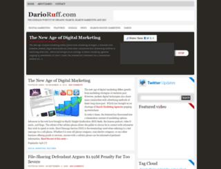 darioruff.com screenshot