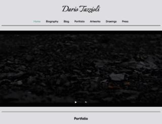dariotazzioli.com screenshot