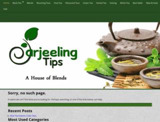 darjeelingtips.com screenshot
