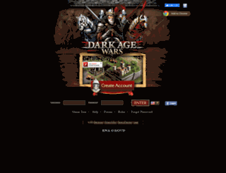 darkagewars.com screenshot