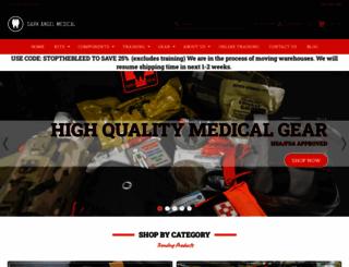 darkangelmedical.com screenshot