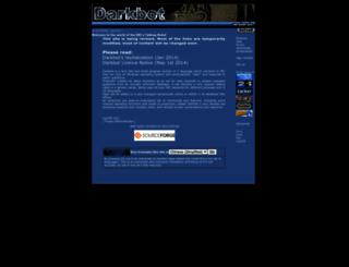 darkbot.sourceforge.net screenshot