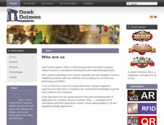 darkdolmen.com screenshot
