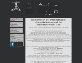 darkestradio.com screenshot