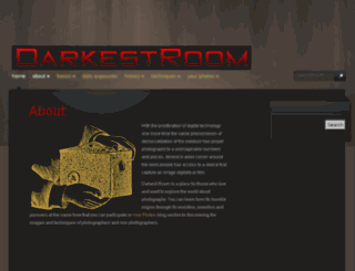 darkestroom.com screenshot