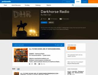 darkhorse.podomatic.com screenshot