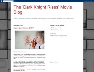 darkknightrisesmovieblog.blogspot.com screenshot