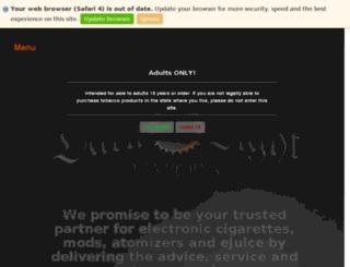 darklightvapors.com screenshot