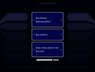 darkmoon.me screenshot