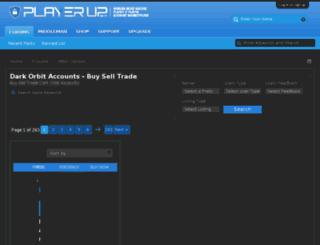 darkorbitaccounts.com screenshot