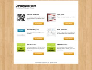 darkshopper.com screenshot