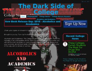 darksideofcollege.com screenshot