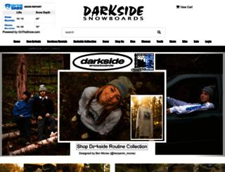 darksidesnowboards.com screenshot
