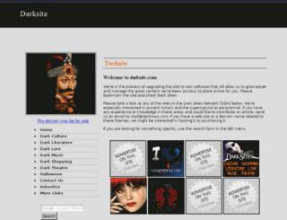darksite.com screenshot