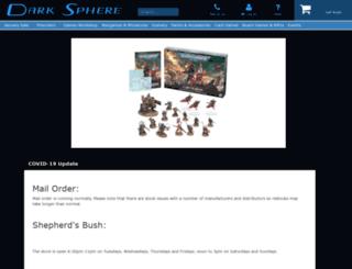 darksphere.co.uk screenshot