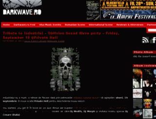 darkwave.ro screenshot
