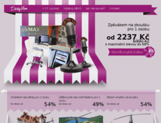darkyvsem.cz screenshot