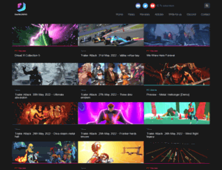 darkzero.co.uk screenshot