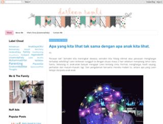 darleenramli.blogspot.com screenshot
