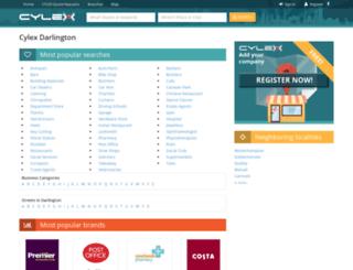 darlington.cylex-uk.co.uk screenshot