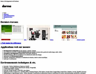 darma.fr screenshot