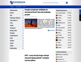 darmoweprogramy.org screenshot