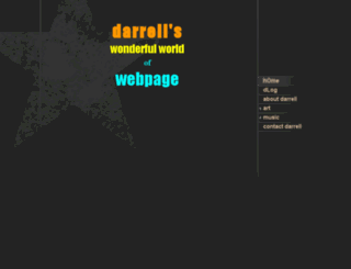 darrellmarshall.com screenshot