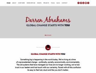 darrenabrahams.com screenshot