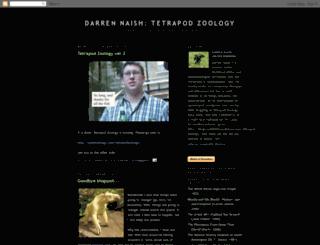 darrennaish.blogspot.com screenshot