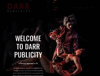 darrpublicity.com screenshot