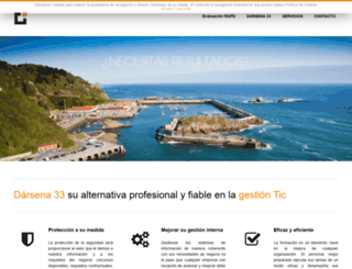 darsena33.es screenshot