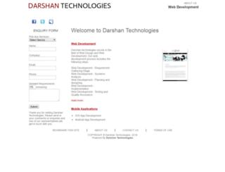 darshantechnologies.com screenshot